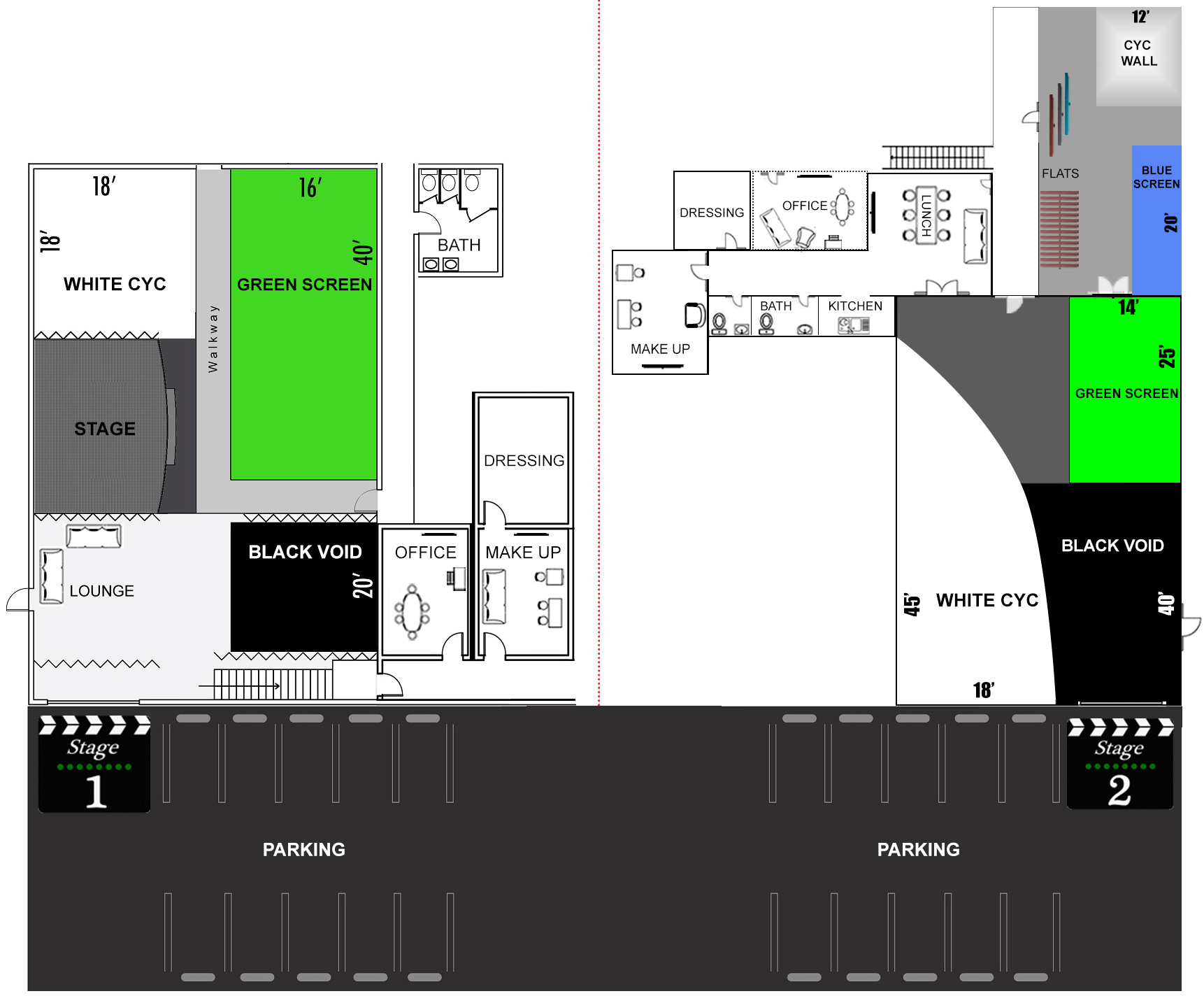 Independence Studio Floor Plan