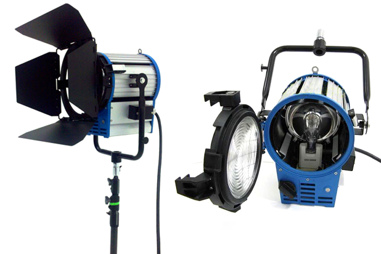 Independence Studio - 2K Watts Fresnel Tungsten Light