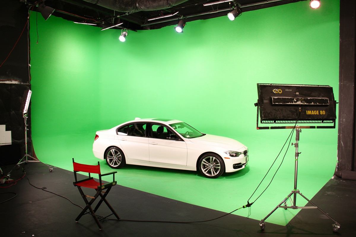 Independence Studio Stage 2 Green Screen