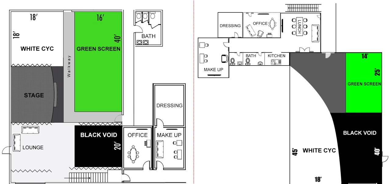 Independence Studio - Floor Plan